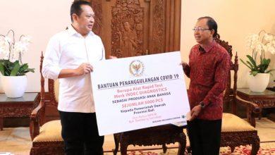 Photo of Bambang Soesatyo Bantu Pemprov Bali 5.000 Alat Rapid Test