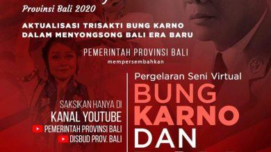 Photo of Peringati Hari Lahir Bung Karno, Disbud Bali Gelar Pentas Seni Virtual