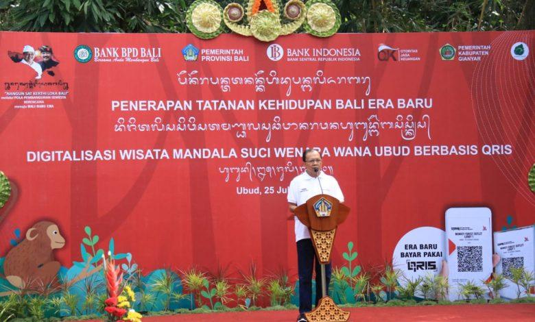 Photo of Uang Elektronik Masuk Monkey Forest