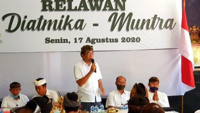 Photo of Simakrama Relawan, Diatmika Tegaskan Tekad untuk Menang