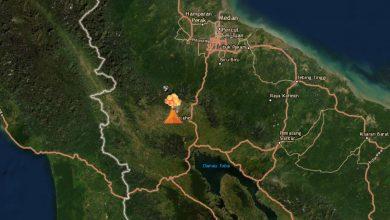 Photo of Gunung Sinabung Kembali Erupsi, Status Masih Level III