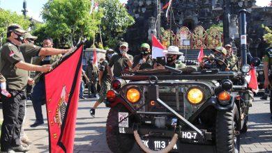 Photo of Tebar Vibrasi Sehat di Tengah Pandemi, Cok Ace Lepas Tour Bali Willys Club