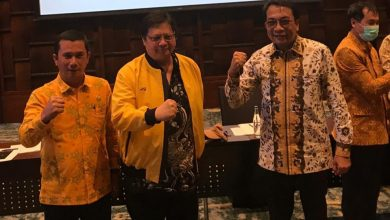 "Photo of Wajah Airlangga Hartanto ""Ditampar"" Golkar Bali?"