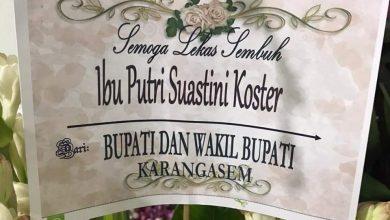 Photo of Jalani Karantina, Mas Sumatri Doakan Kesembuhan Bunda Putri