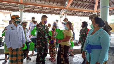 Photo of DPD RI, TNI, Polri Berbagi 125 Paket Sembako