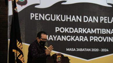 Photo of Pokdarkamtibmas Bhayangkara Bali Dilantik