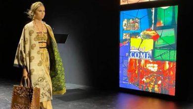 Photo of Endek Bali Memukau Paris Fashion Week