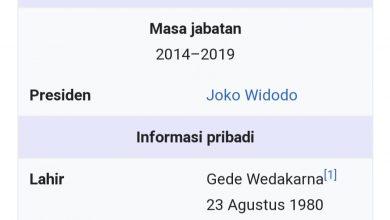 Photo of Wikipedia Tulis Gede Wedakarna