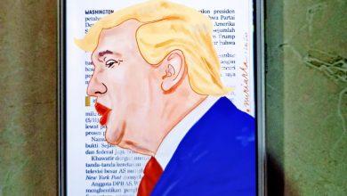 Photo of Kalah, Donald Trump Ngamuk