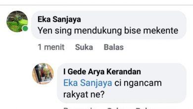 """Photo of Tak Pilih Jawir, Timses Ancam Masyarakat Tabanan """"Makente"""""""