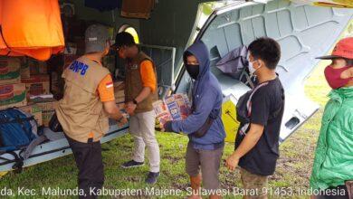 Photo of BNPB Distribusikan Bantuan Logistik Pascagempa M6,2 Sulbar dengan Helikopter