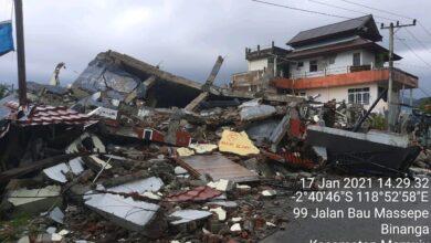 Photo of 19.435 Korban Gempa Sulbar Ngungsi, Tersebar di 25 Titik