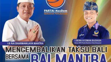 Photo of Dewa Budiasa Ketua NasDem Bali? Julie: Siapapun Bisa Gantikan Saya