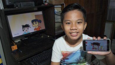 Photo of Usir Jenuh, Siswa SDN 7 Benoa Buat Video Animasi Edukasi