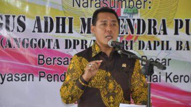 Photo of Gus Adhi Khawatir Maskot Bali Punah