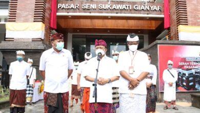 "Photo of Koster Minta Stop Tradisi ""Nawah"" di Pasar Seni Sukawati"