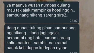 Photo of Rayu Warga Ke Hotel, Chat Diduga Oknum Sulinggih Viral