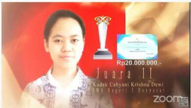"""Photo of Berkat """"Teh Covid-19"""" Siswa Trisma Raih Hadiah Rp 20 Juta"""