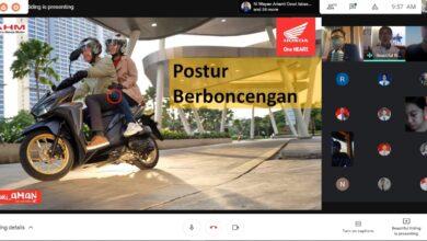 Photo of Cari Selamat di Jalan Raya, Honda Edukasi Siswa SMAN 5 Denpasar