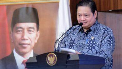 Photo of Ekonomi Tumbuh 7,07%, Sugawa Korry Puji Airlangga Hartarto