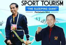 Photo of Sport Tourism Primadona, Dewa Susila Dibidik Ketua KONI Bali