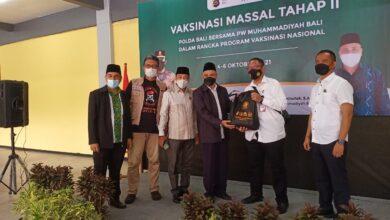 Photo of Polda-Muhammadiyah Bali Sinergi Vaksinasi II