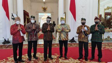 Photo of Presiden Jokowi Terima Audiensi Panitia Mahasabha XII
